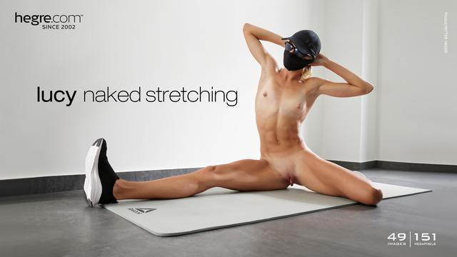 [Hegre-Art] Lucy - Naked Stretching